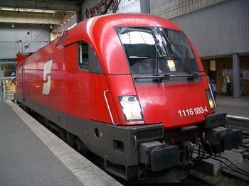 オーストリア国鉄 1116形  ミュンヘンにて.JPG